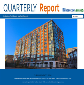 Q1 2017 Hoboken Real Estate Report cover